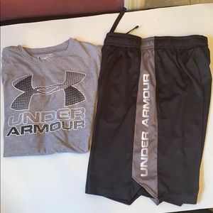 Underc Armour Tshirt and Shorts